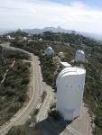 Telescopes on Kitt Peak
